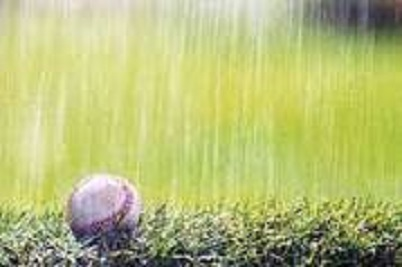 Local HS baseball/softball games rained out today