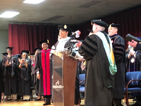 HCC's sixth president, Dr. Alissa Young, inaugurated