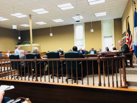 Fiscal Court hears reports, approves bid for new theatre seats