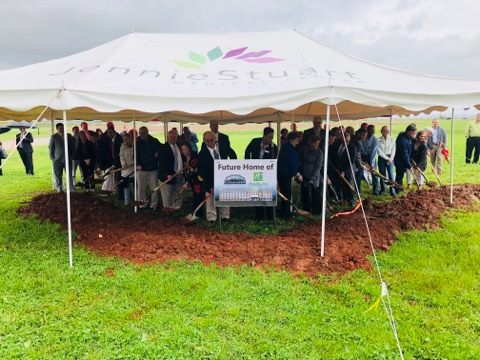 Ground broken on Lover's Lane for new Holiday Inn
