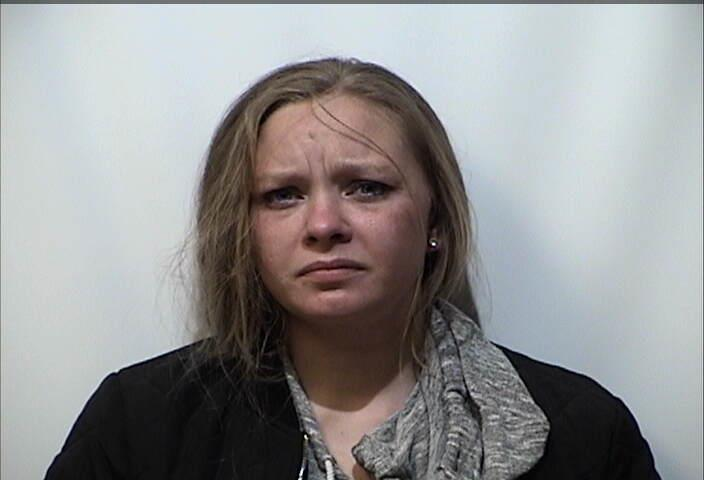 Woman charged with meth possession, tampering with evidence