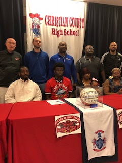 Christian County's Ware signs with Jacksonville State