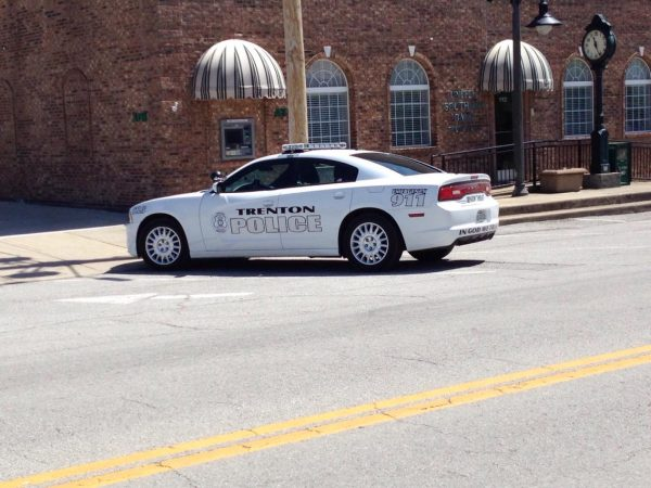Trenton police chief now full-time, gets new cruiser