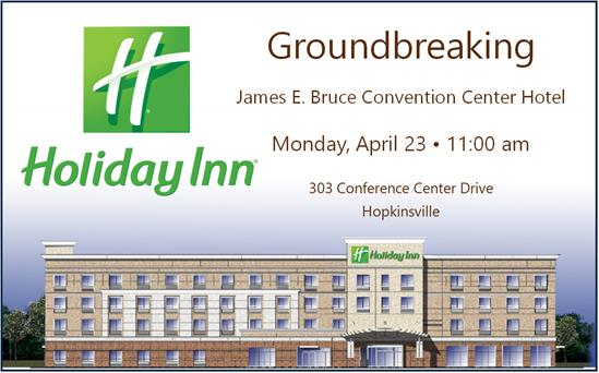 Ground to be broken Apr. 23 for new Holiday Inn