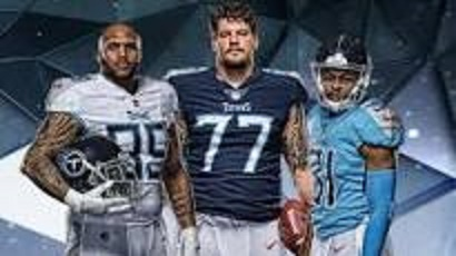 Titans unveil new uniforms