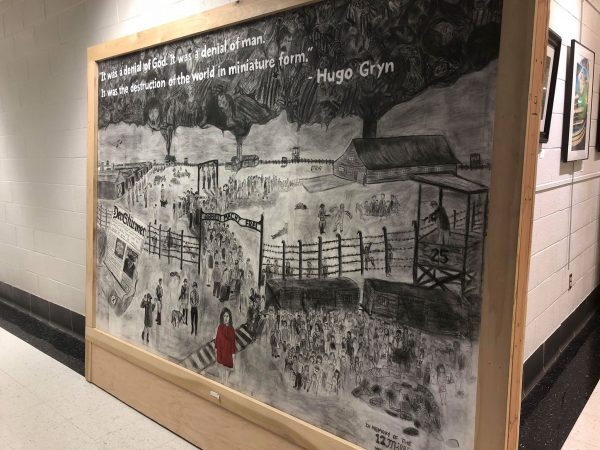 """Never Forget"" Holocaust exhibit up for viewing at HCC"