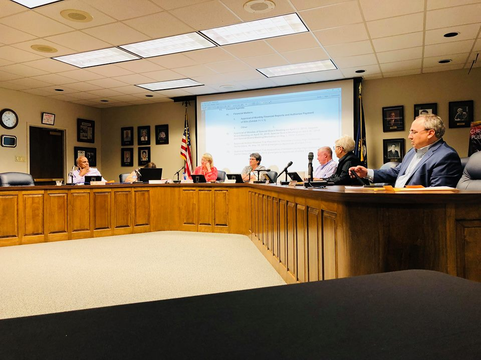 School board approves tentative budget, superintendent evaluation