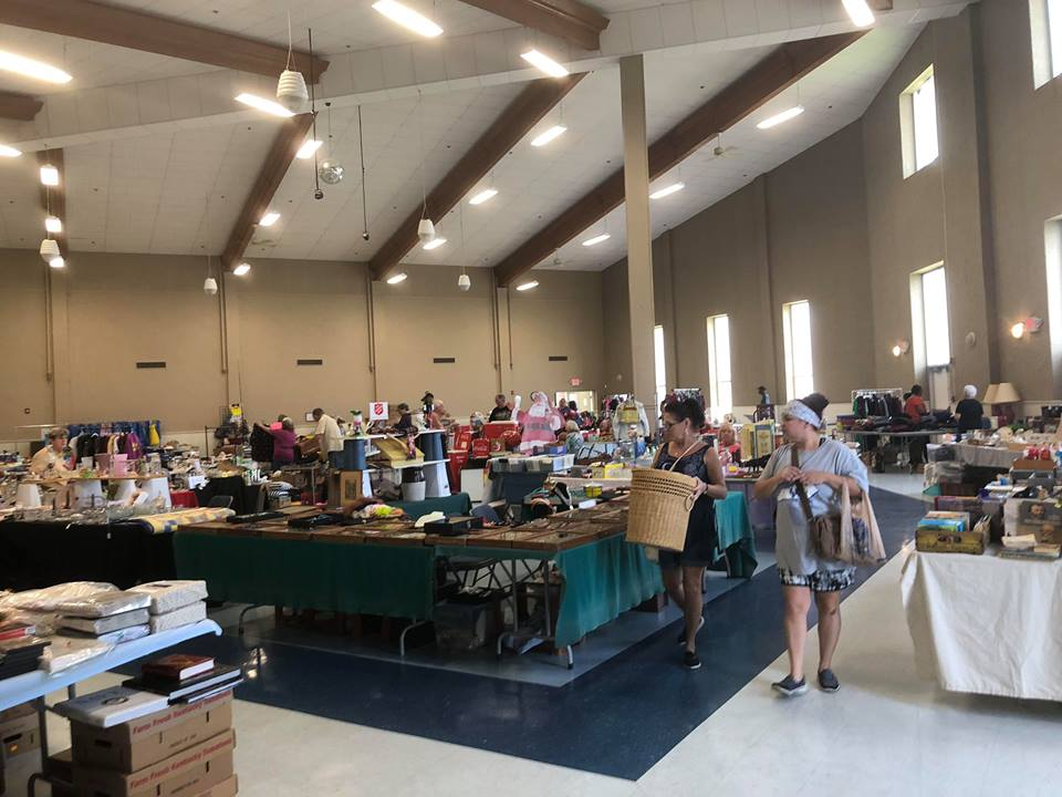 400 Mile Yard Sale underway | WHOP 1230 AM | News Radio