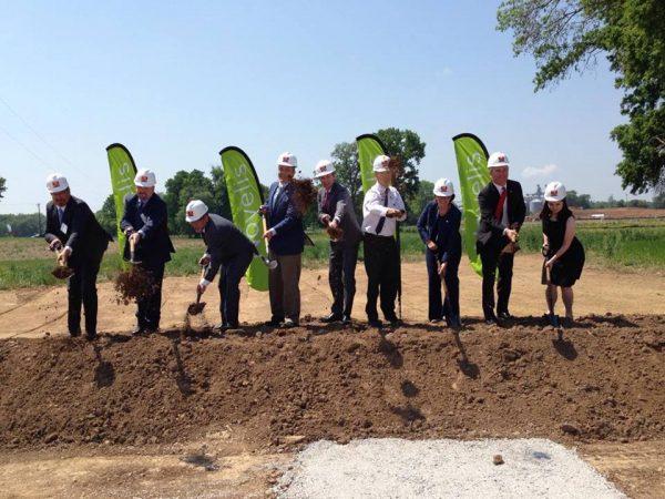 Novelis breaks ground on Guthrie plant