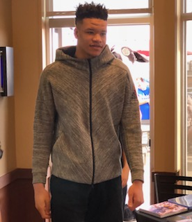 Kevin Knox makes Hopkinsville visit