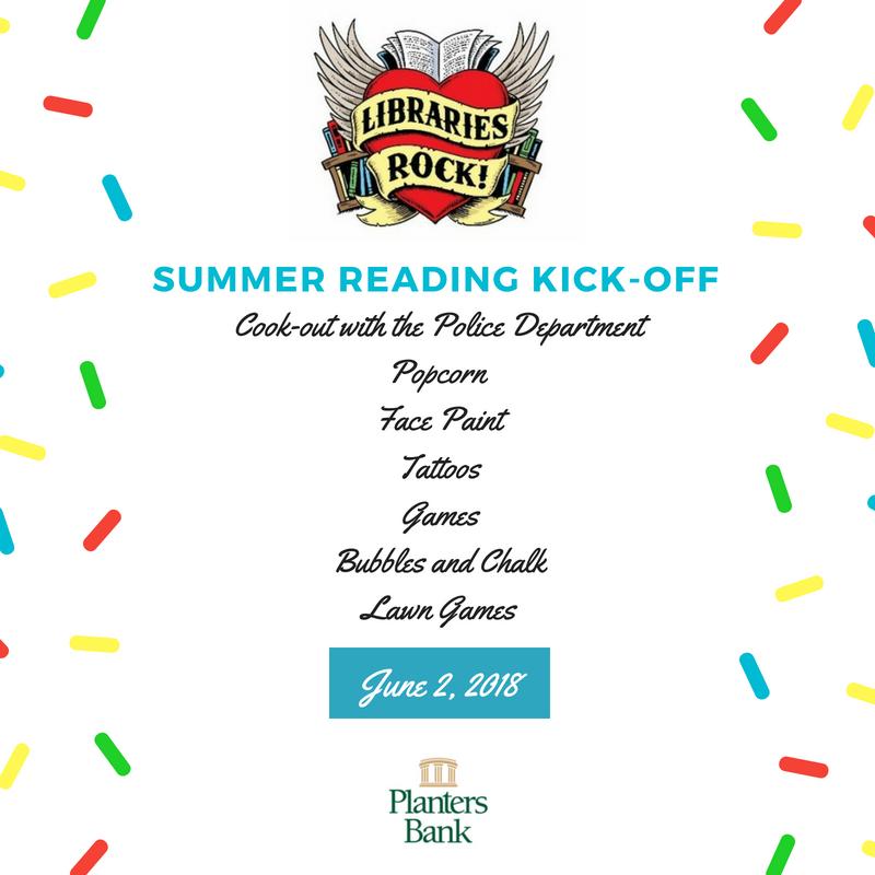 Library summer reading program kicks off Saturday
