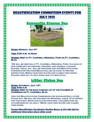 Beautification Commission Events