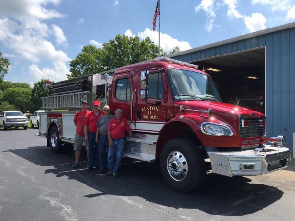Elkton Fire Department gets new truck