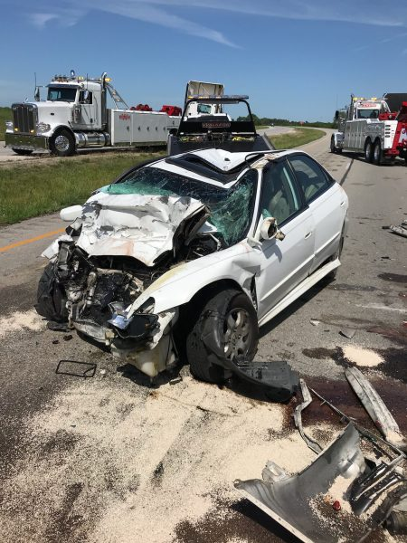 Logan Co. woman killed in crash on US 68