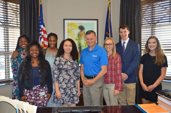 City welcomes seven interns