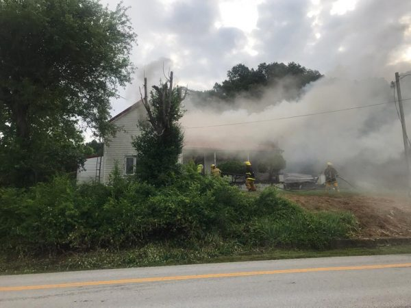 Fire damages Todd County home