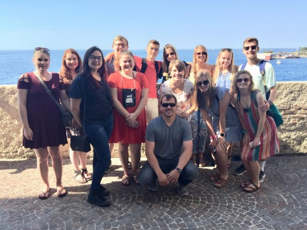 HHS European History class tours France, Italy