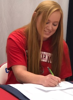 County grad O'Daniel signs with WKU
