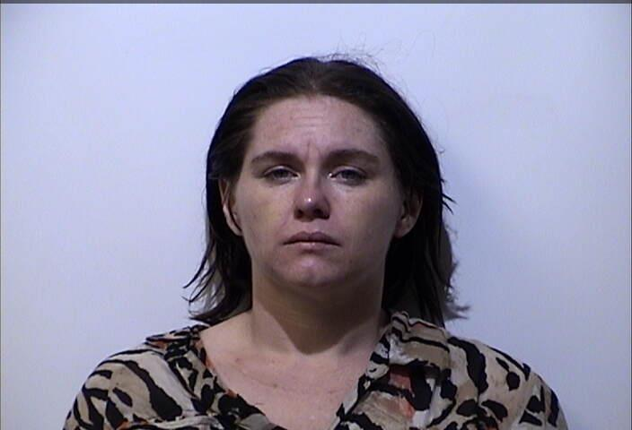 Woman arrested Sunday morning for meth possession