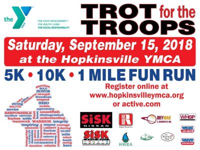 Trot for the Troops is Saturday