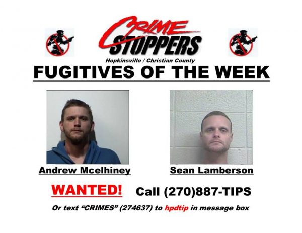 Crime Stoppers Fugitives of the Week 07/11