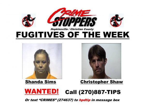 Crime Stoppers Fugitives of the Week 07/25