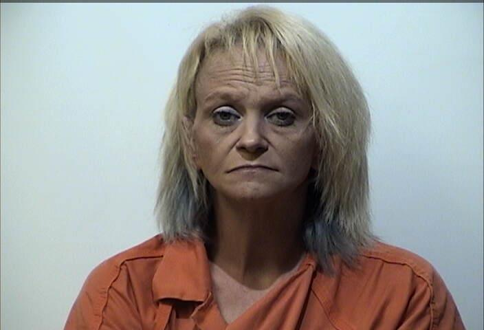 Woman arrested for meth possession