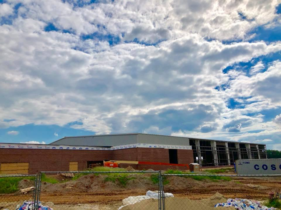 Construction continues at Sportsplex, events being booked