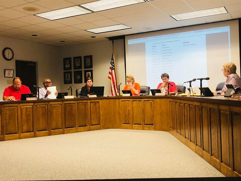 School board hears district discipline update