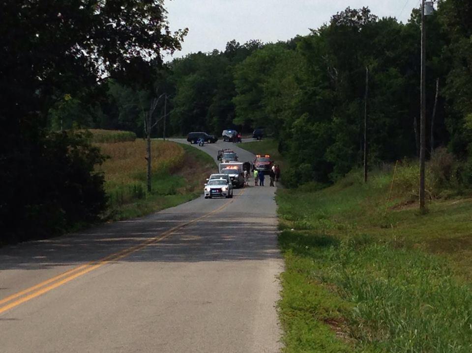 Man killed after motorcycle hits deer