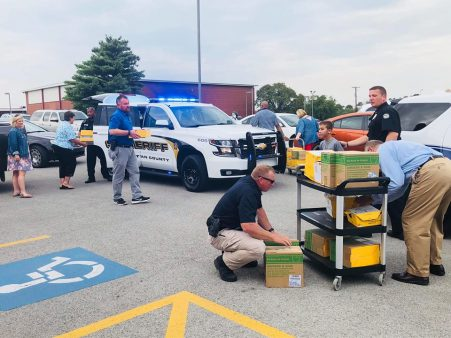 Fraternal Order of Police gears kids up for school