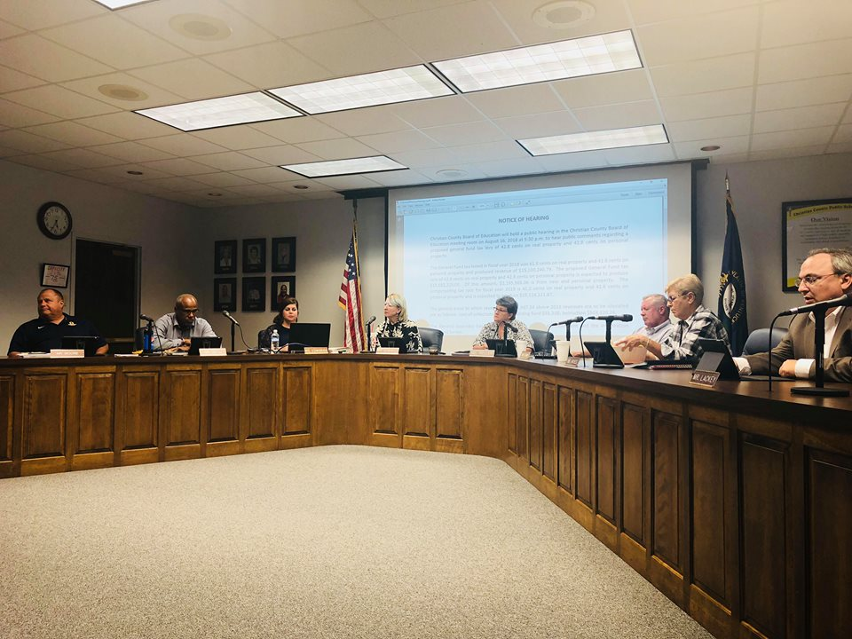School Board approves tax rate increase