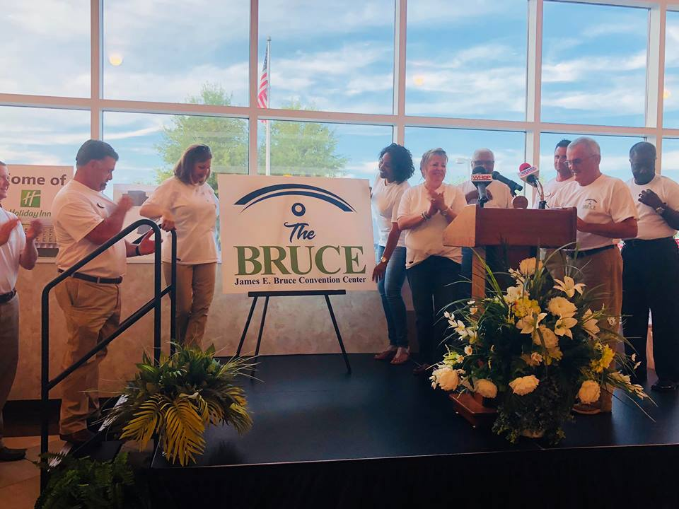 Bruce Center receives Top New or Renovated Site Award