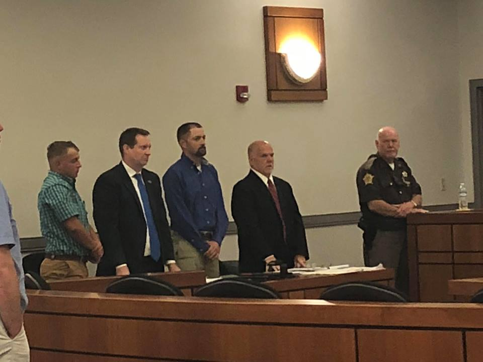Former firefighters found guilty in Crofton arson trial