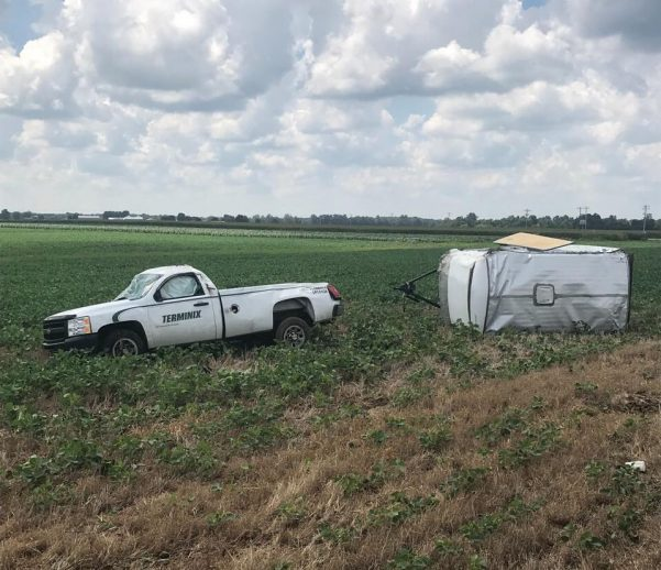 Man injured in Todd County accident