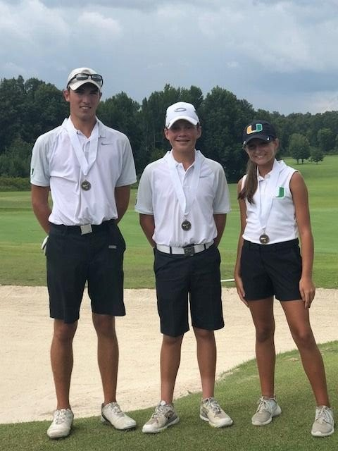 UHA Girls & Boys Golf heading to State All A