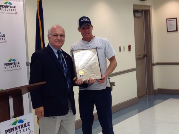 Pennyrile Electric receives safety award