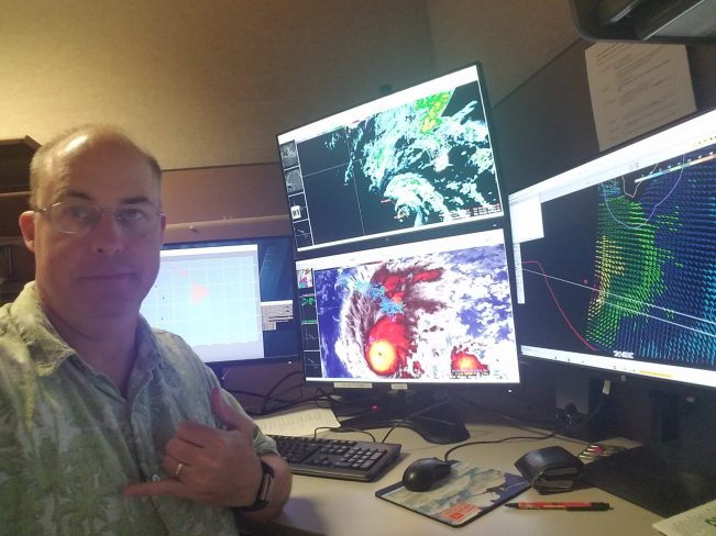Christian County native instrumental in forecasting Hurricane Lane