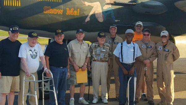 Local veterans fly on B-25 Bomber thanks to Honor Flight Program