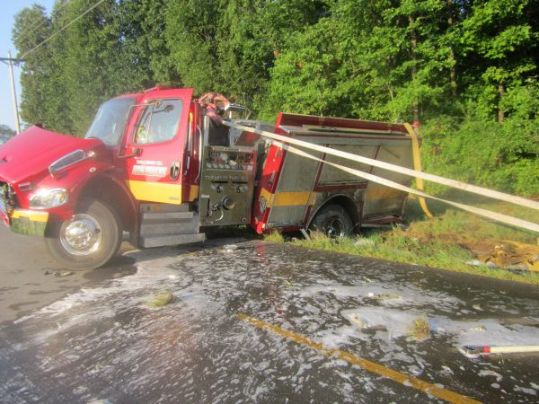 Calloway Co. EM director injured in fire truck accident