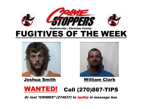 Crime Stoppers Fugitives of the Week 08/18