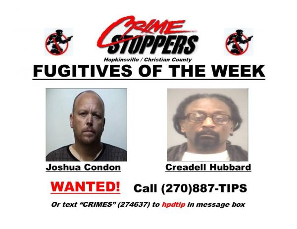 Crime Stoppers Fugitives of the Week 08/29