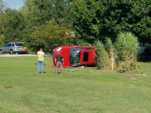 CCSO: Impaired driver crashed into gas line