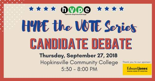 HYPE to host candidate debate