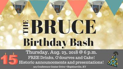 Birthday Bash at The Bruce