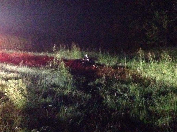 Motorcyclist seriously injured in morning accident