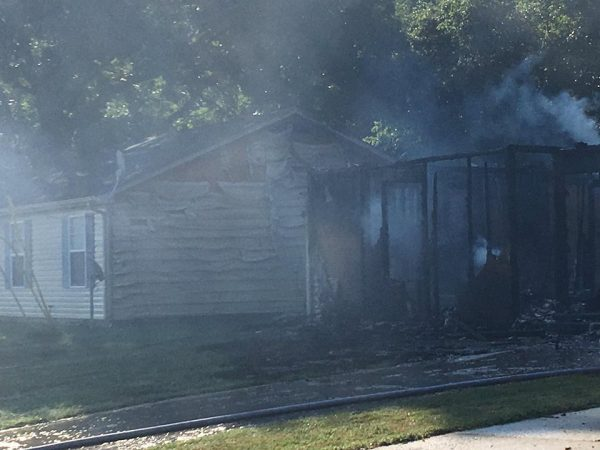 Oak Grove home destroyed by fire Monday morning