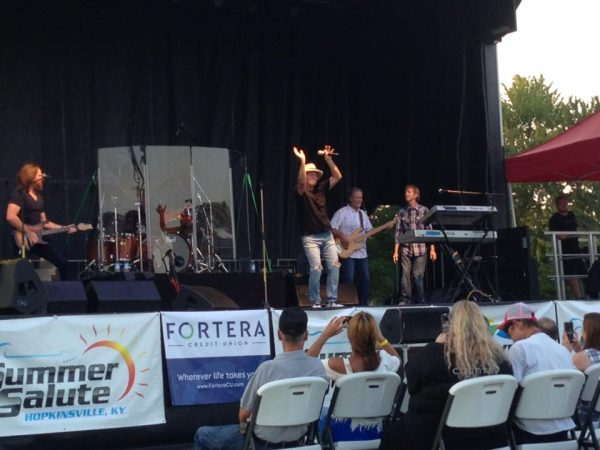 Sawyer Brown closes out Summer Salute