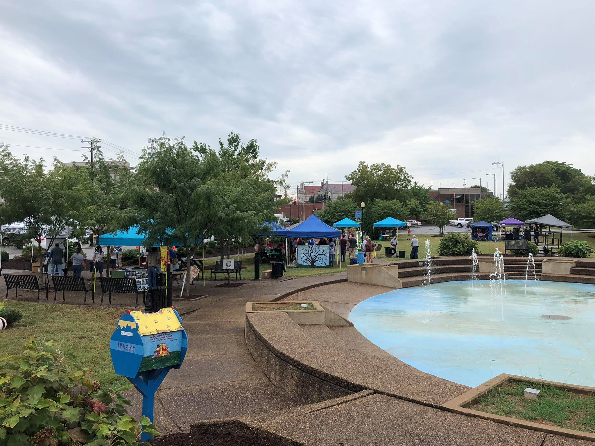 Rain doesn't stop Arbor Day Festival