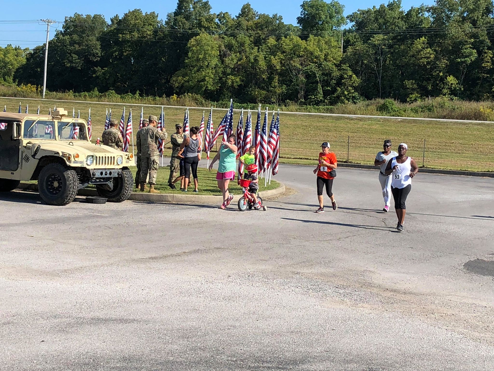 Good turnout for Trot for the Troops